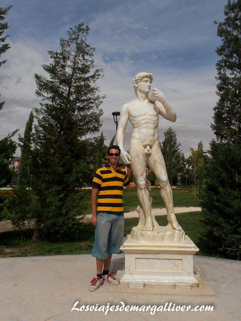 Miguel Angel del parque Europa en Madrid